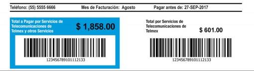 consultar recibo telmex talón de pago
