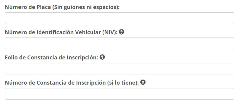 Consulta ciudadana registro publico vehicular