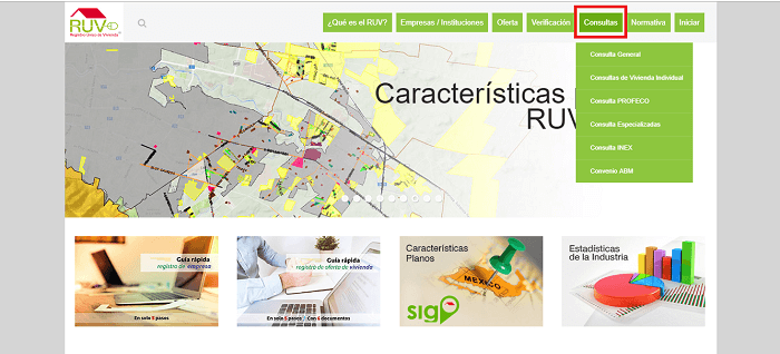 Consultas Portal RUV