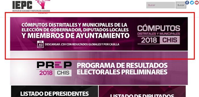 IEPC consulta de resultados