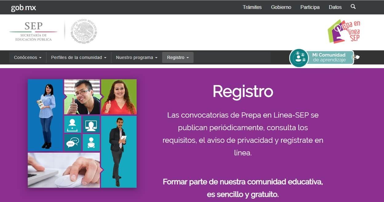 Registro Prepa en línea
