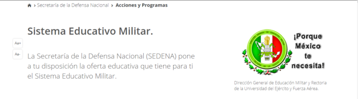 Sistema educativo militar