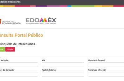 multas en Edomex