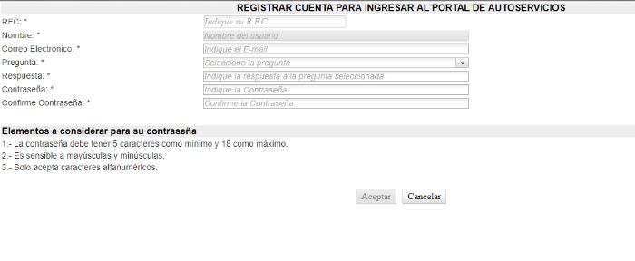 registrar cuenta