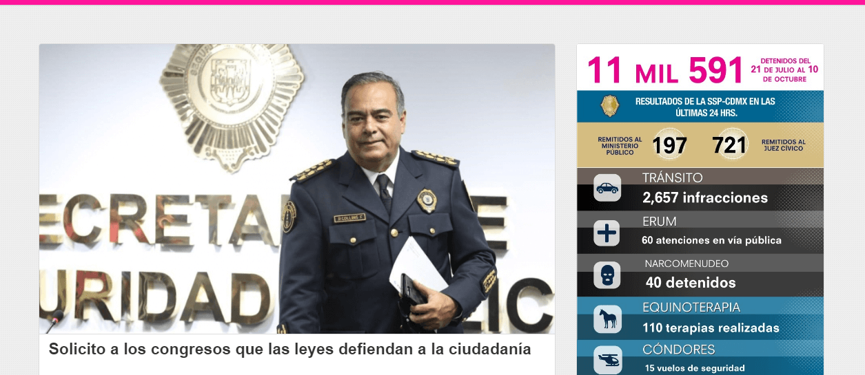 requisitos policia mexico