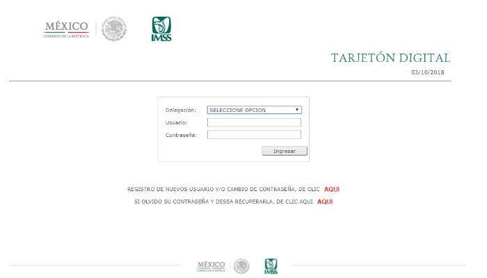 web de acceso